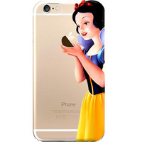Disney's Snow White Jelly CLear Case For Apple Iphone 5 /5s /SE