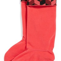 Women's Hunter 'Geometric Dazzle' Original Tall Fleece Welly Socks