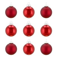 Traditional Glass Ball Christmas Ornament