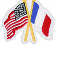 France and USA Patch