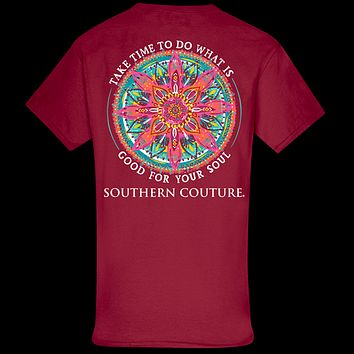 Southern Couture Classic Good For Soul Mandala T-Shirt