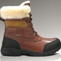 LFMON UGG 5521 Tall Men Fashion Casual Wool Winter Snow Boots Chestnut