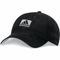 Adidas 60888 Relaxed Hat, Black