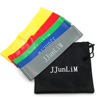 Quality Rubber resistance bands set Fitness workout elastic training band for Yoga Pilates band crossfit bodybuilding exercise