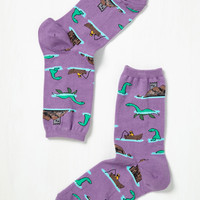 By All Means Nessy-cary Socks