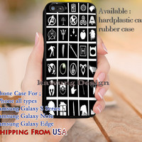 Do You Know These Symbols iPhone 6s 6 6s+ 5c 5s Cases Samsung Galaxy s5 s6 Edge+ NOTE 5 4 3 #movie #HarryPotter #sherlockholmes #supernatural #starwars #GameOfThrones dl9