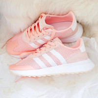 Adidas Flashback Pink Women Fashion Trending Running Sports Shoes Sneakers
