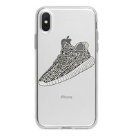 LARGE TURTLE DOVE YEEZY CUSTOM IPHONE CASE