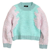 Minju Kim for H & M wool blend sweater - a single product - girlfriends style bargains site - Claudel miiee