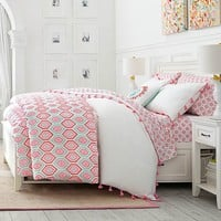 Diamond Daisy Duvet Cover + Sham