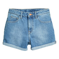 Denim shorts - from H&M