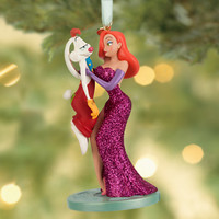 Disney Roger Rabbit and Jessica Sketchbook Ornament | Disney Store