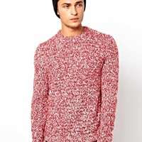ASOS Twisted Yarn Jumper at asos.com