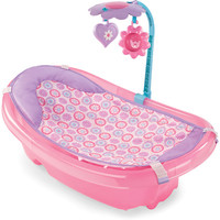 Meijer / Product View / Summer Infant Sparkle Fun Baby Tub with Toy Bar / 293426