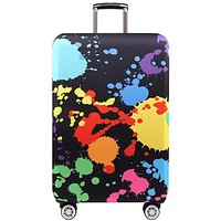 LUGGAGE COVERS WHO KNEW Travel Suitcase Protective Cover Assorted Designs for Apply to 19''-32'' Suitcases FREE SHIPPING