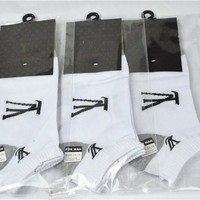 3pairs/lot  5pairs/lot LV Socks brand Business Casual socks cheap and high quality