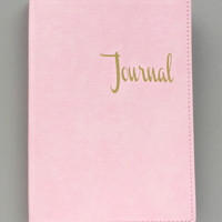 Soft Blush Journal