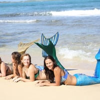 Adult Mermaid Tail with Mono Fin