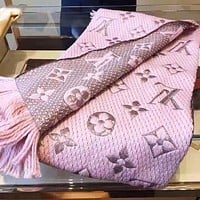 LV Louis Vuitton Fashion Woman Accessories Cape Scarf Scarves