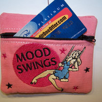 Mood Swings Credit Card Case  Gift Card or ID by WoobiesGifts