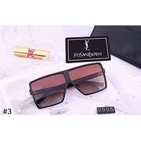 YSL Yves Saint Laurent new large box color film style polarized sunglasses #3