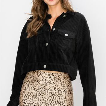 Another Place Cropped Jacket