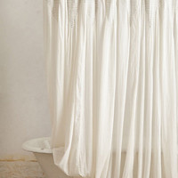 Hushed Winds Shower Curtain