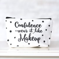 Graphic Makeup Bag