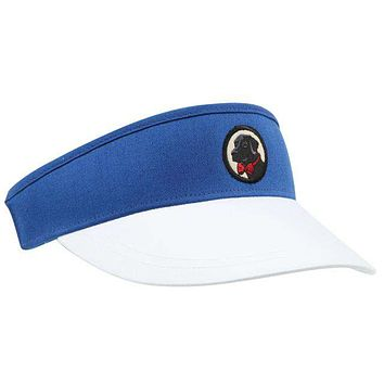 Visor in Blue and White by Southern Proper