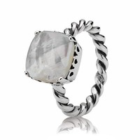 PANDORA Mother of Pearl Path Ring - Size 5