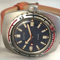 "Authentic  ""VOSTOK AMPHIBIA"" Military gent's  watch. Vintage Military Diving watch.Amazing condition ! Great gift for him"
