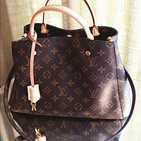 LV Louis Vuitton Montaigne BB Handbag Shoulder Bag