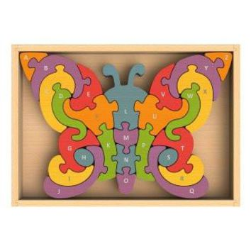 Butterfly A-Z Wooden Puzzle