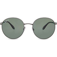 RAY-BAN - RB3537 Phantos round sunglasses | Selfridges.com