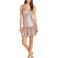 Ark & Co Women's Sleeveless Sequined Dress