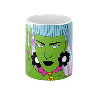 Alien Flower Child Mug