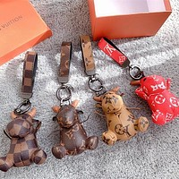 shosouvenir Louis Vuitton LV Charm And Key Holder
