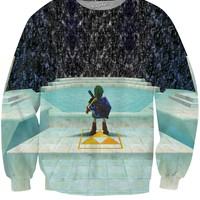 Legend of Zelda Great Fairy Fountain Crewneck Sweatshirt