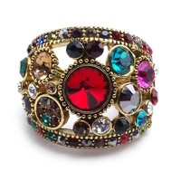 New Arrival Shiny Gift Stylish Vintage Hollow Out Alloy Diamonds Jewelry Ring [6049498945]