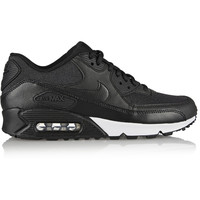 Nike - Air Max 90 leather and printed jacquard sneakers