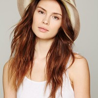Free People Ombre Straw Panama Hat