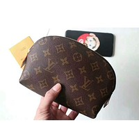 LV Louis Vuitton High Quality Fashion Zipper Toiletry Handbag Cosmetic Bag Purse Wallet I-MYJSY-BB