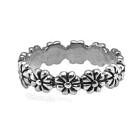 Flower Child Sterling Silver Ring on Sale for $12.99 at HippieShop.com