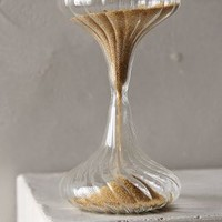 Shimmering Sand Hourglass by Anthropologie