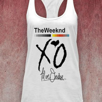 XO The Weeknd unisex adults tank top on Size : S-XXl heppy feed.