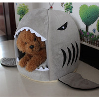 4 Colors Shark Dog Beds
