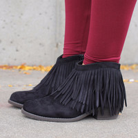 The Native Way Bootie - Black