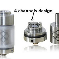 High quality ecig clearomizer Orchid rda clone Orchid atomizer clone Vaporizer Orchid v1 v2 v3 DIY atomizer tanks