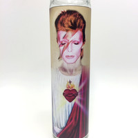 David Bowie as Ziggy Stardust Candle