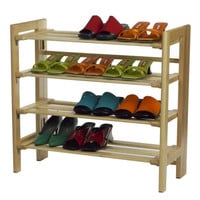 Shoe Rack, 4-Tier